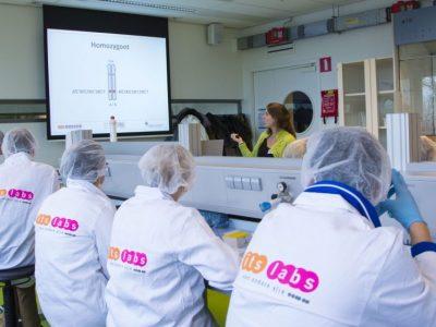 DNA lab op Science park